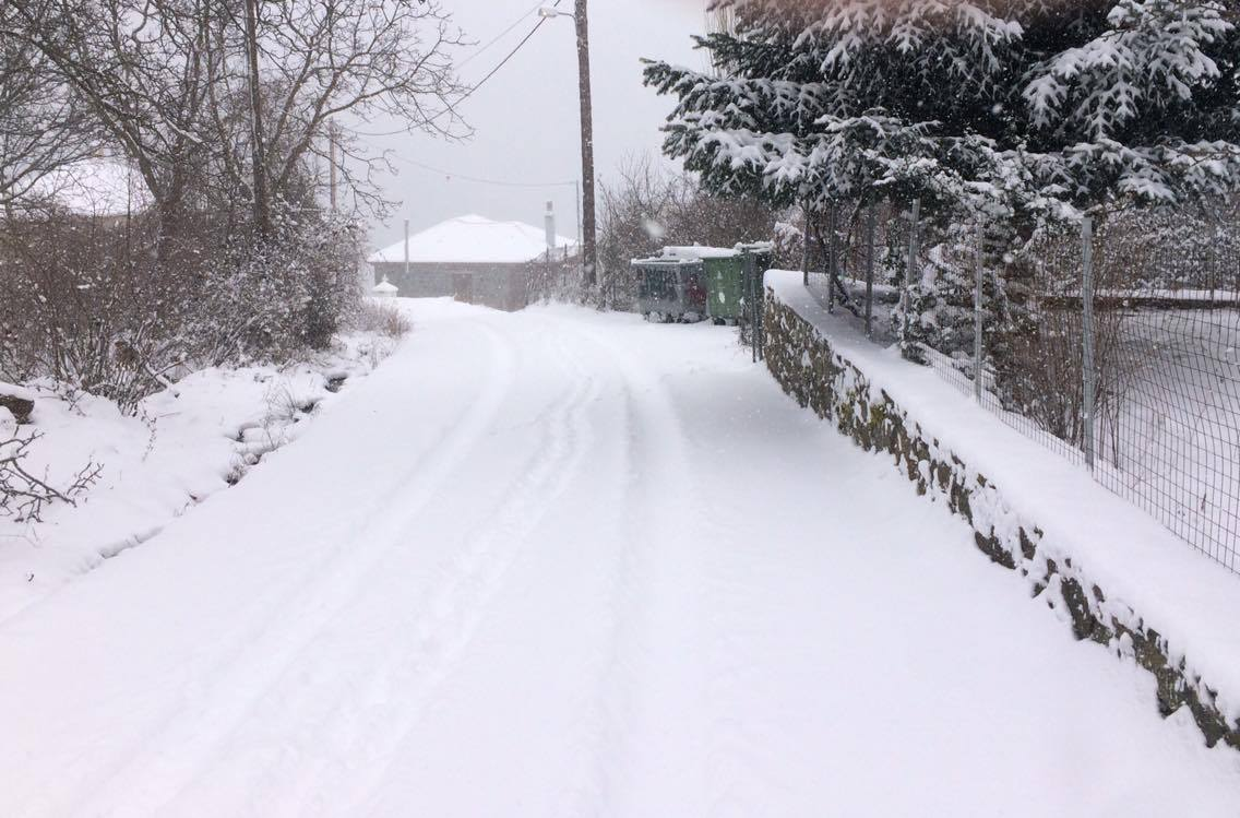 Διχώρι - Χιονισμένες διαδρομές